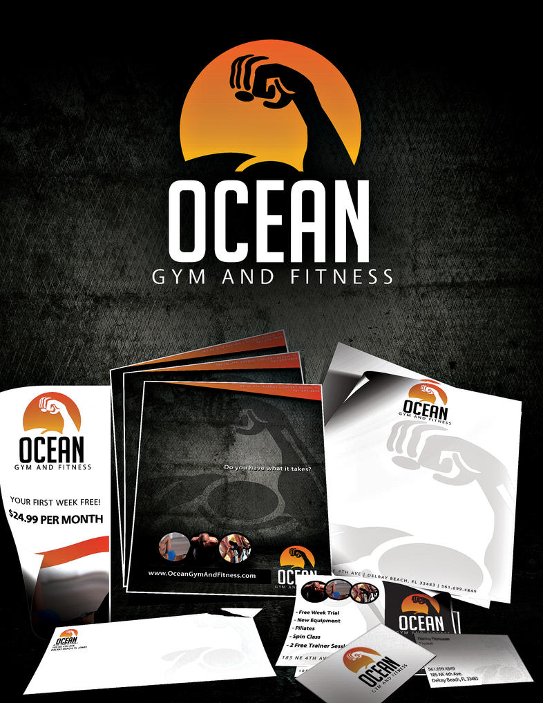 Ocean Gym and Fitness by thisisdanny on DeviantArt