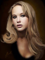 Jennifer Lawrence by brentonmb