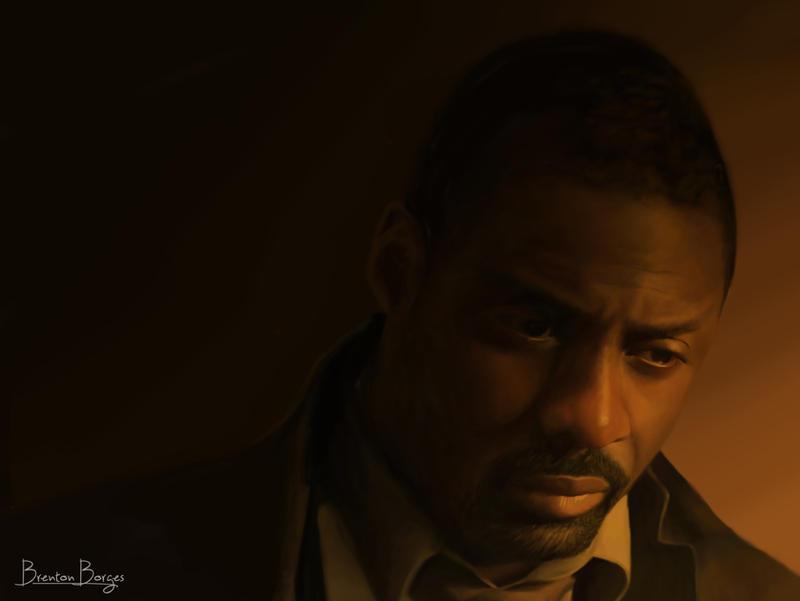 Idris Elba by brentonmb