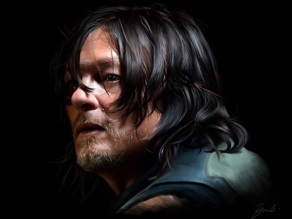 Daryl Dixon by brentonmb
