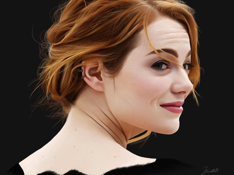 Emma Stone by brentonmb