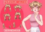 Perucas Alice [UL] BY LicyAD (LINK NA DESCRICAO)