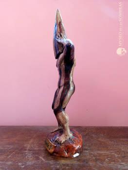 Estatuilla de Koshmenk espiritu ceremonial selknam