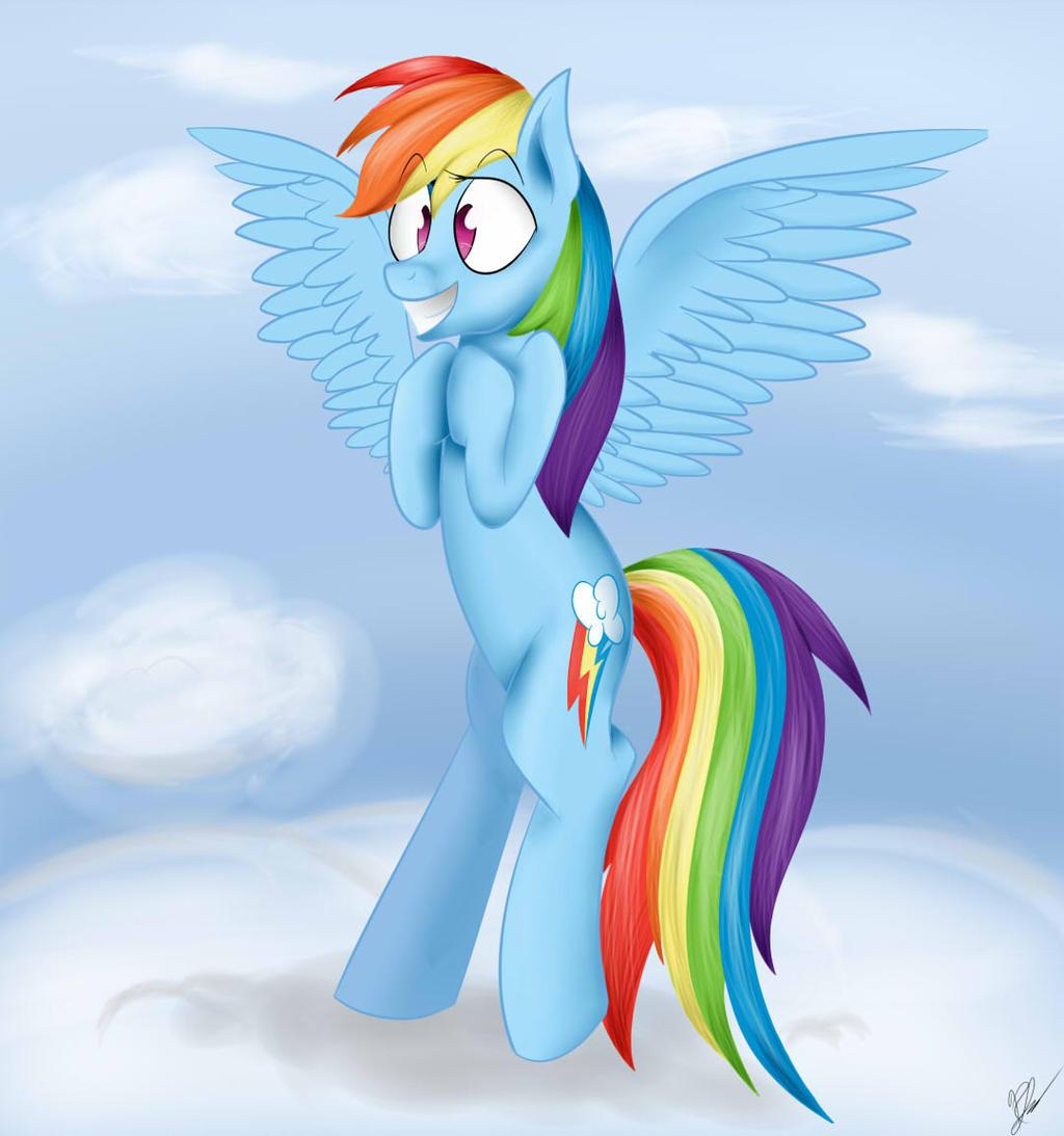 Rainbow Dash by MayWindWolf