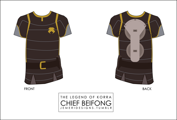 LOK: Chief Lin Beifong Shirt by jemeri