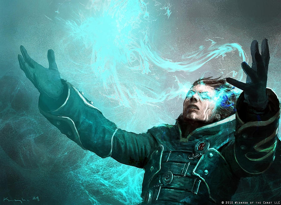 Jace doing magical stuff by IgorKieryluk