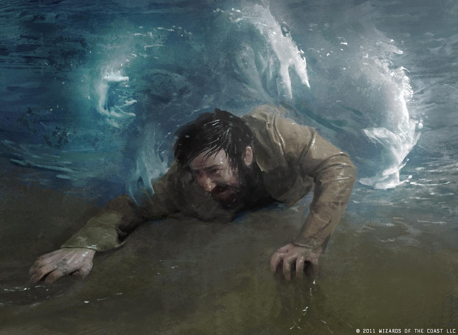 Water grasp by IgorKieryluk