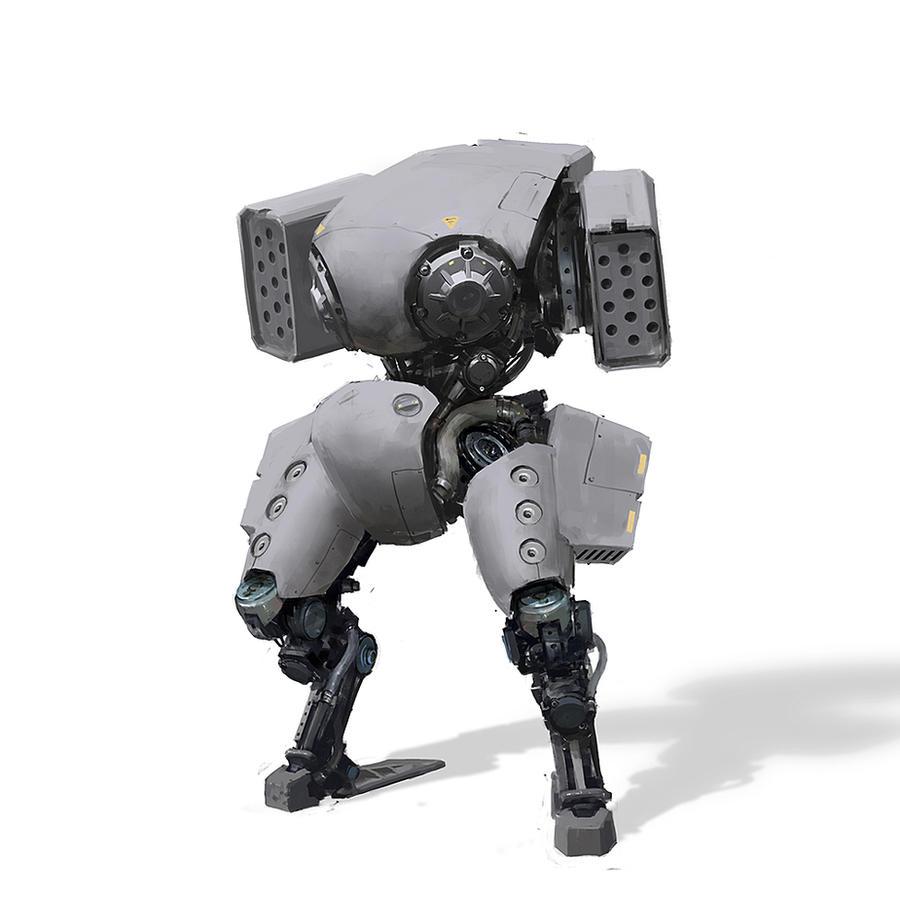 robot2 by IgorKieryluk