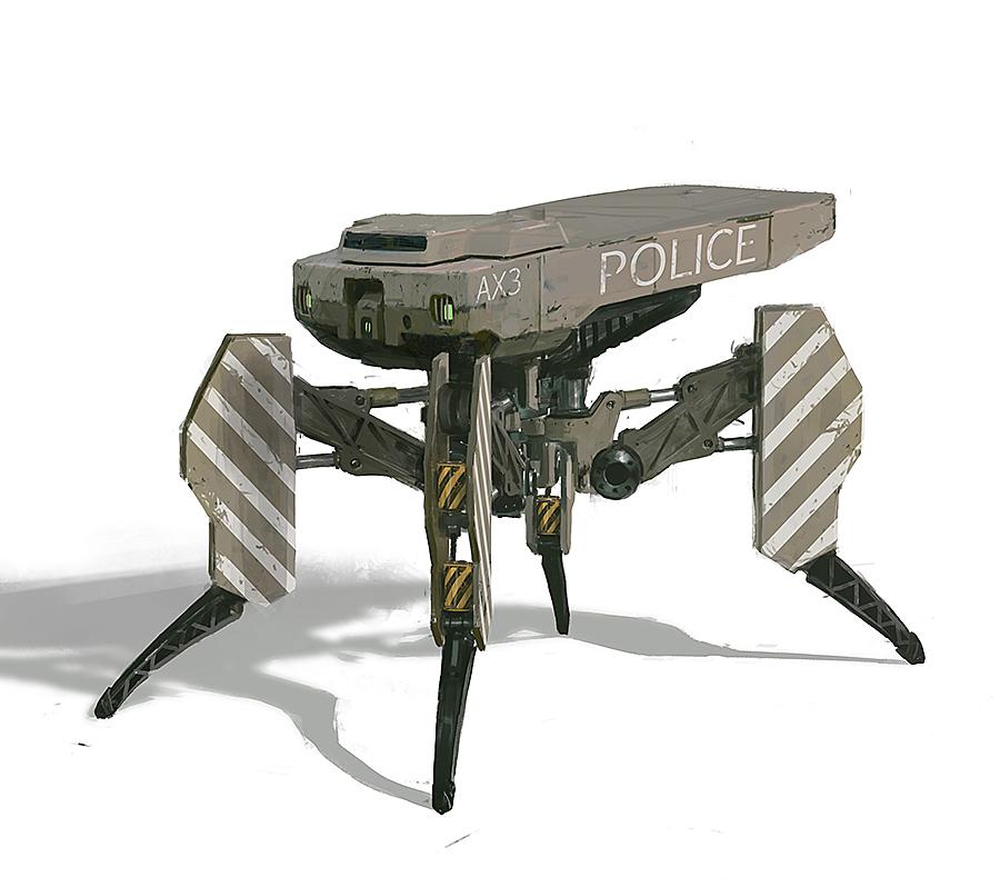 mule robot by IgorKieryluk