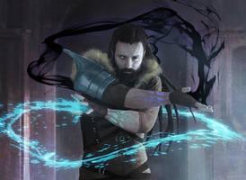 Krovikan Sorcerer by IgorKieryluk