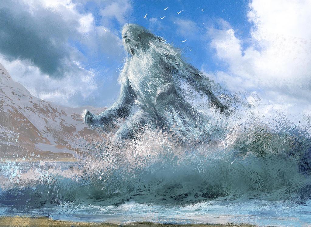 Shorecrasher Elemental by IgorKieryluk