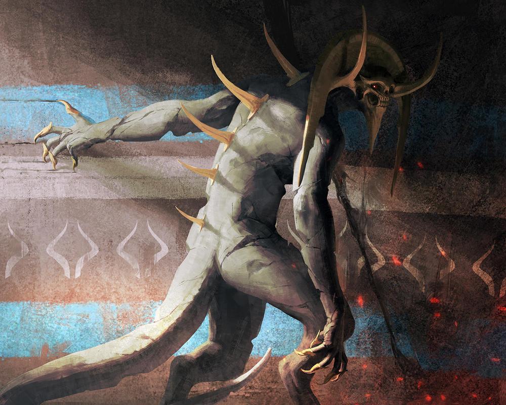Horror Statue by IgorKieryluk