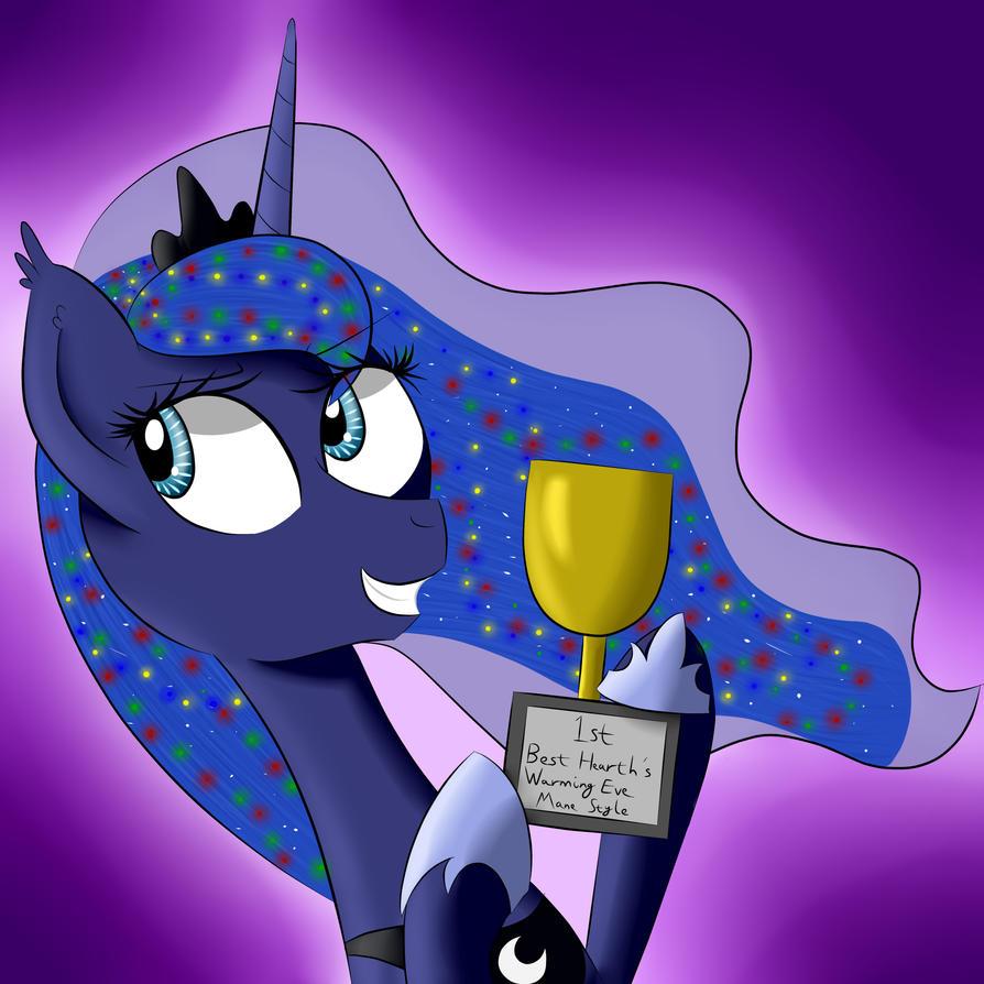 A Winner Is Luna! - Day 14 by MelonHunter