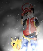 Trainer Red by Tsuubasa-kun