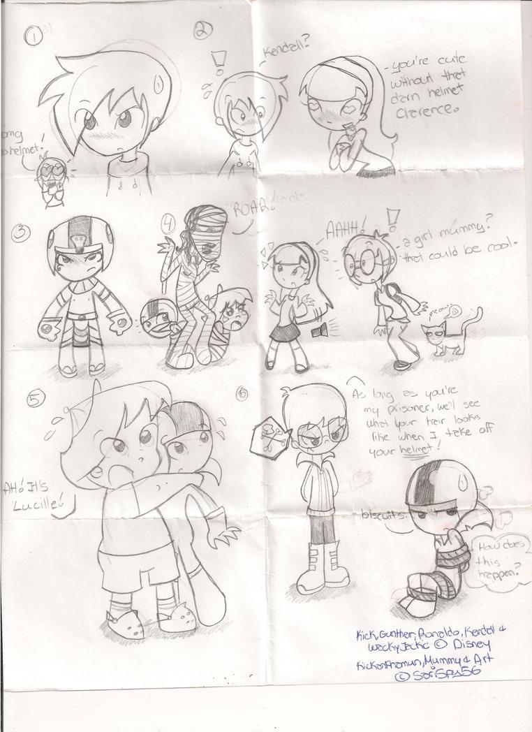 Kick Buttowski Sketches by SariSpy56