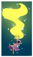 03: Rapunzel in Water by SariSpy56