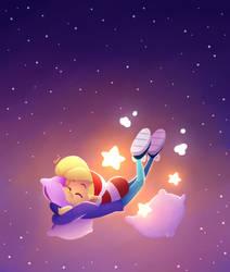 Starry Elf by SariSpy56