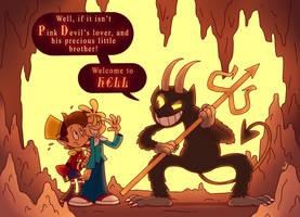Drawlloween 8: The Devil