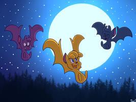 Drawlloween 12: Bats