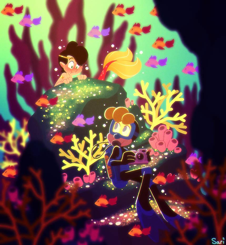 MerMay 8: Scuba Diver