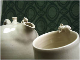 Tea and Mouse II by ClaireBriant