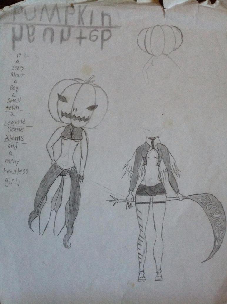 Pumpkin Haunted by Bannikure