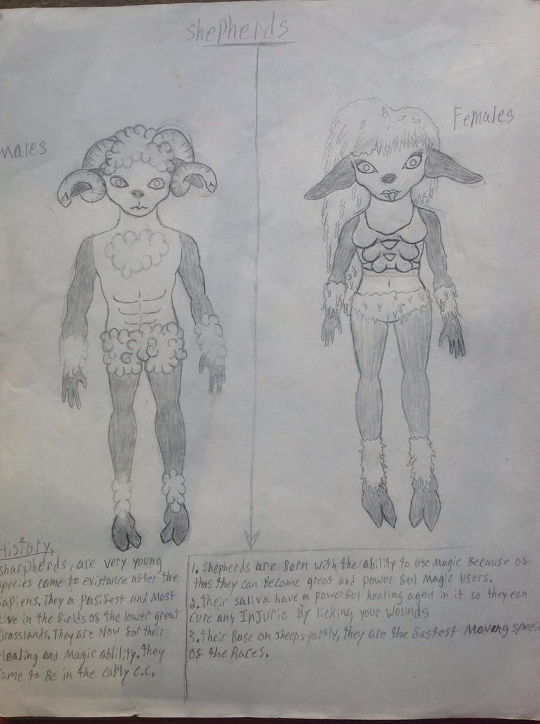 Shepherds by Bannikure