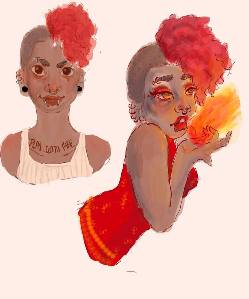 Play With Fire by AuclarySin0220