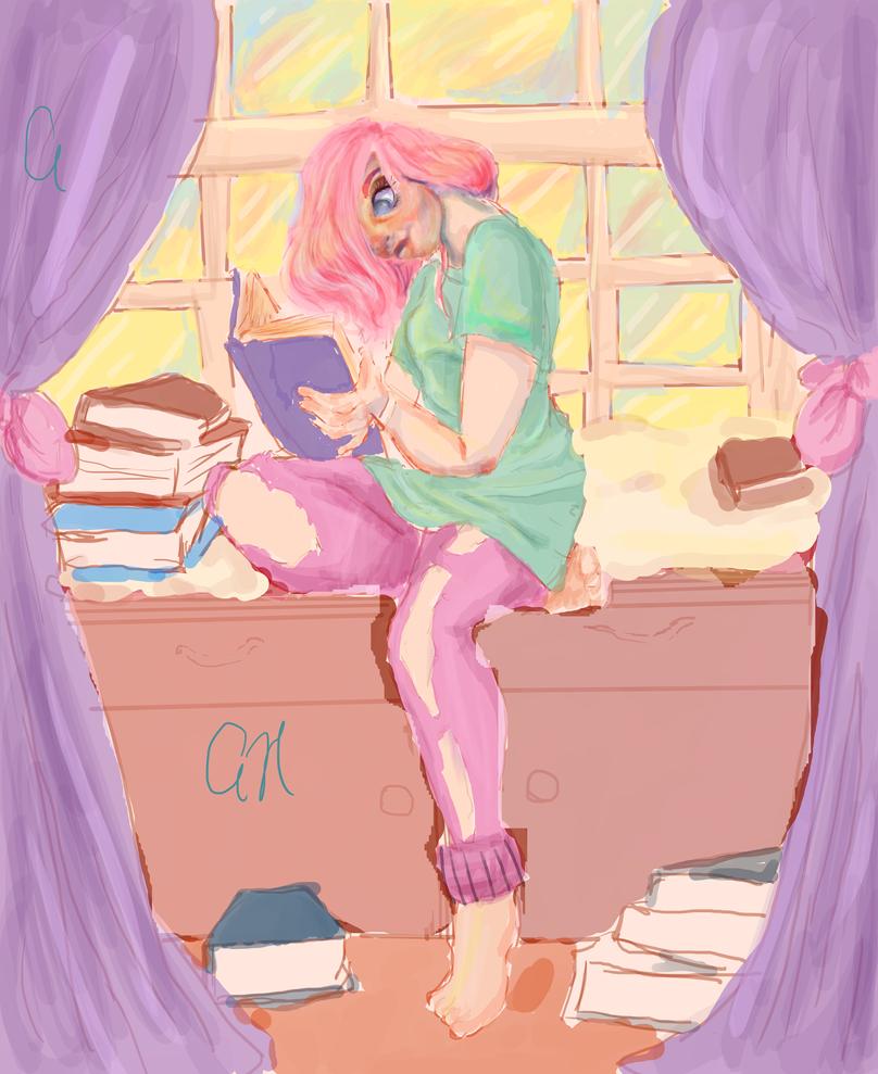 Book Worm by AuclarySin0220