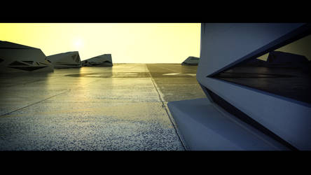 Hangar 001 by Markus3dArt