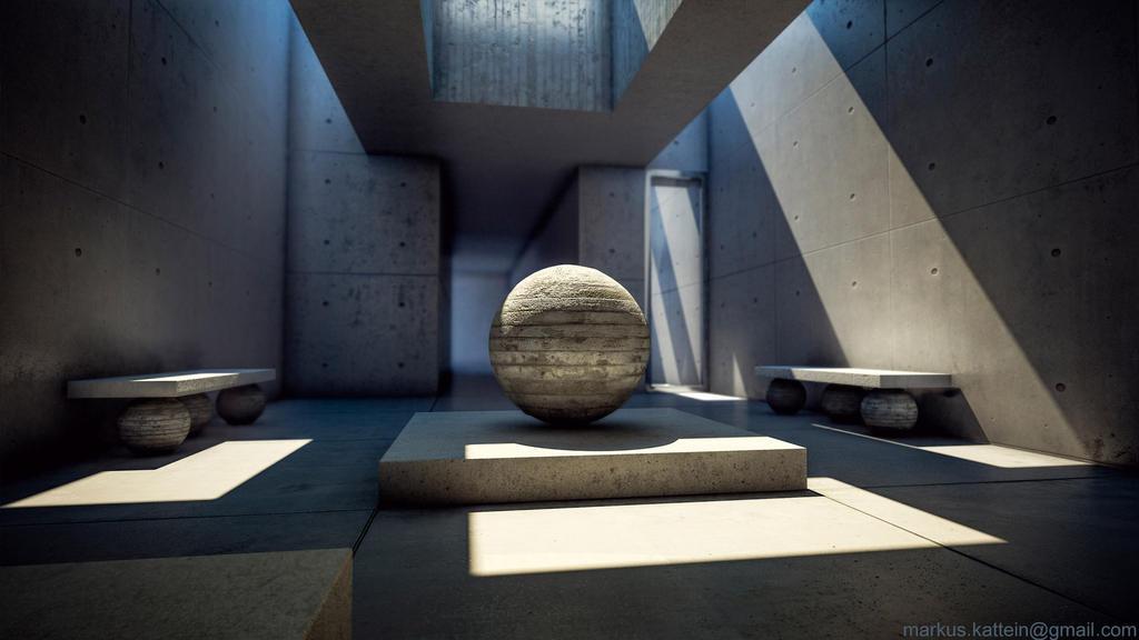 Concrete Studie by Markus3dArt