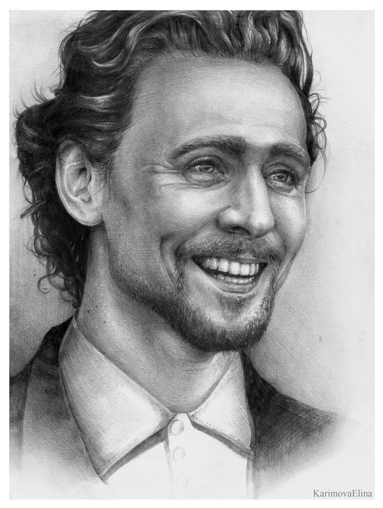 Tom Hiddleston by GabrielleGrotte