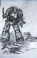 Some Heresy-era Death Guard doodles, tactical