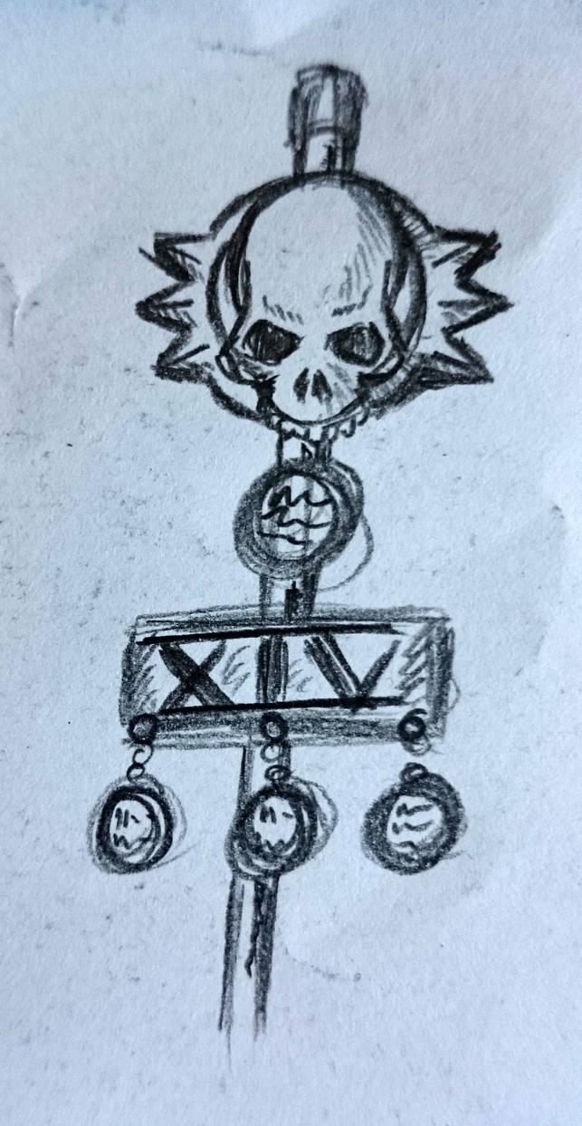Some Heresy-era Death Guard doodles, bannertop