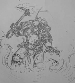 Death Guard destroyer 1