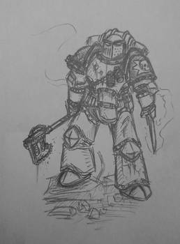 Death Guard destroyer 2