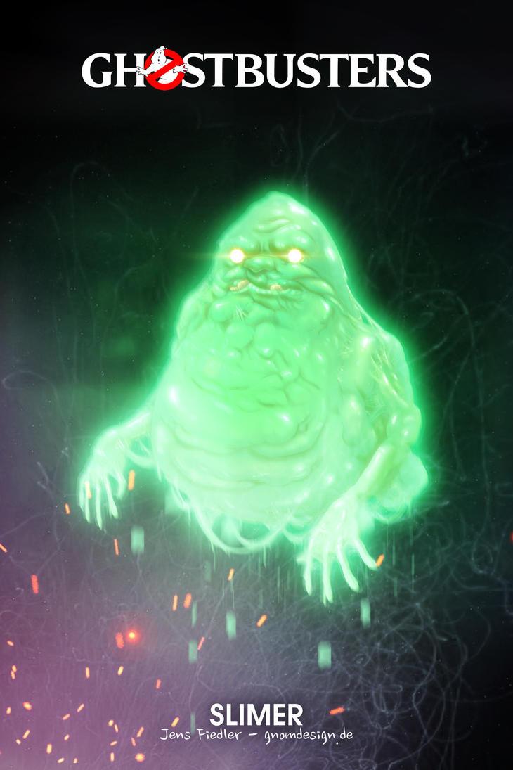 Ghostbusters Slimer by ogereye