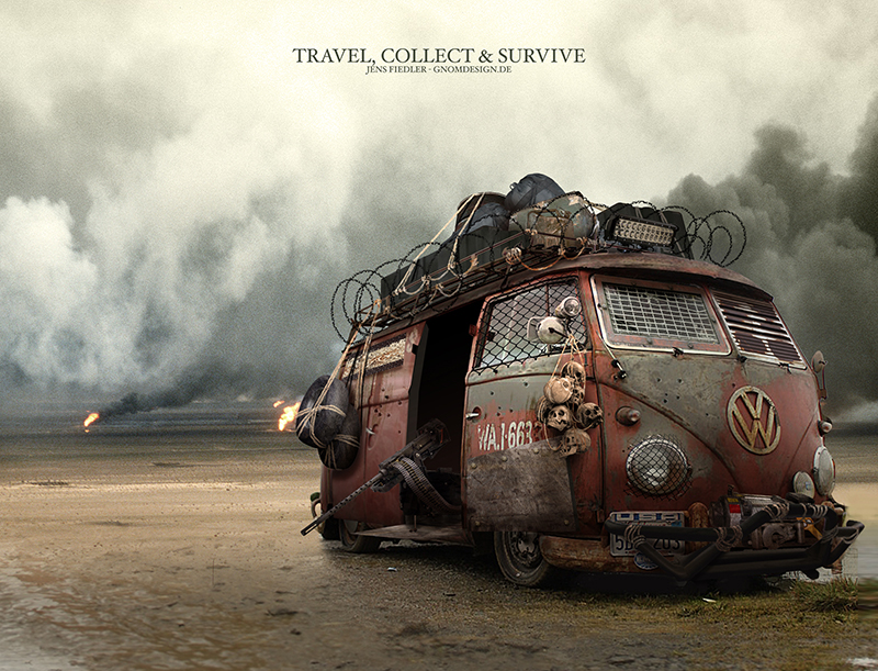 Travel, Collect and Survive by ogereye