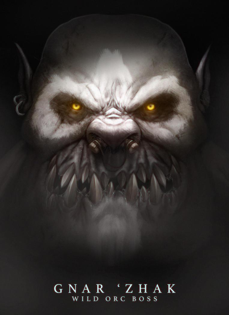 Gnar 'Zhak the boss by ogereye