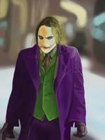 Heath Ledger Joker by rda-Highlander