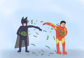 Batman vs Iron-man: THE ULTIMATE BATTLE