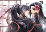 Wei WuXian and Lan WangJi