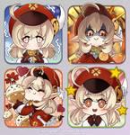Genshin Impact Klee Stickers