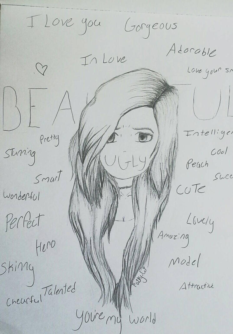 Self Harm Drawings Tumblr