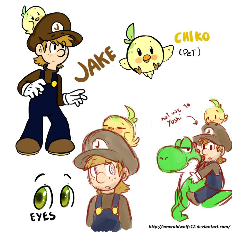 Mario: Jake oc by MariobrosYaoiFan12