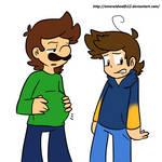 Luigi and Jr.
