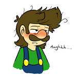 Luigi is sick