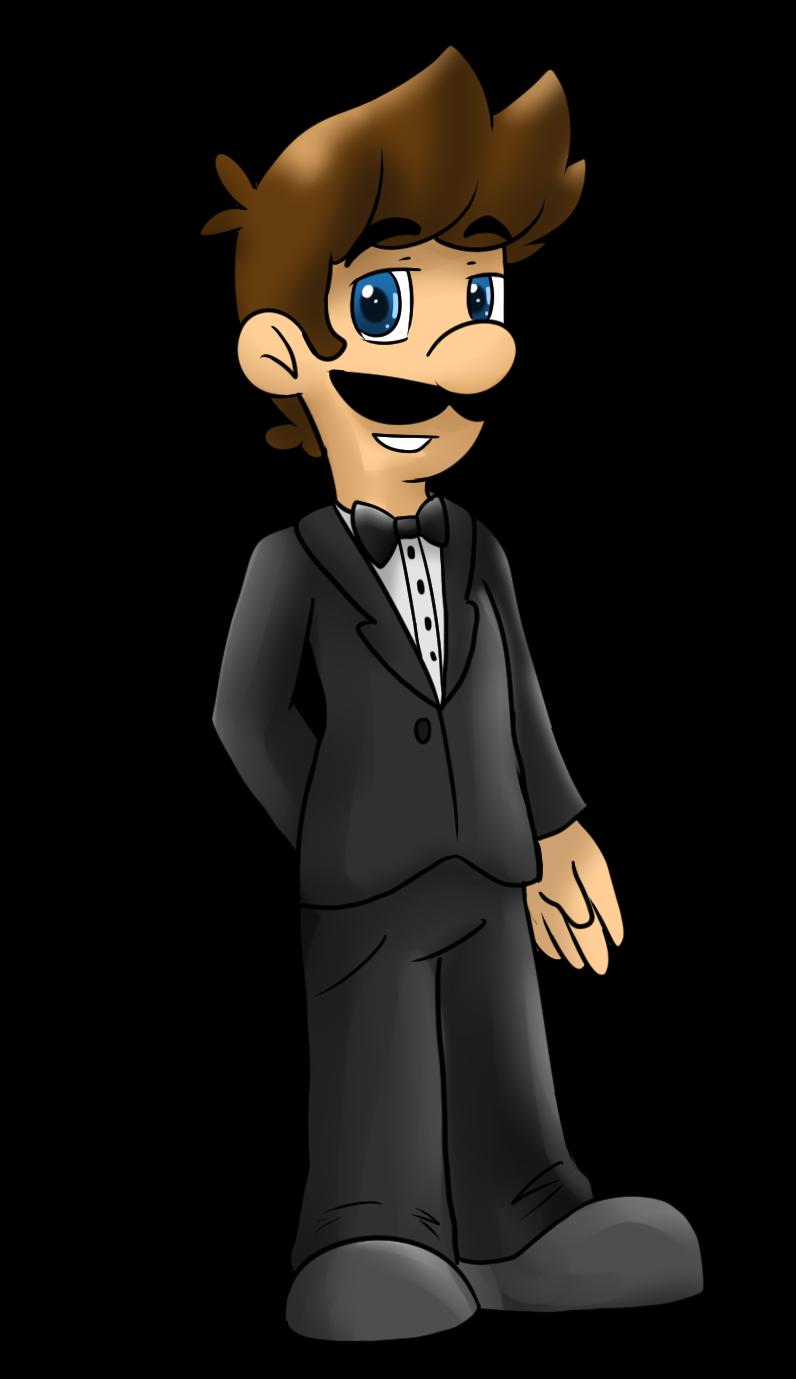 Luig in a Tuxedo by MariobrosYaoiFan12