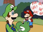 Mama?! Mama Luigi?!