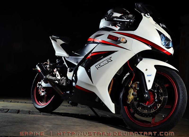 White Ninja 250r by vstary on DeviantArt